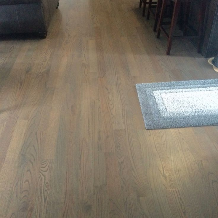 Red Oak Hardwood Floors Stained Classic Gray By Minwax