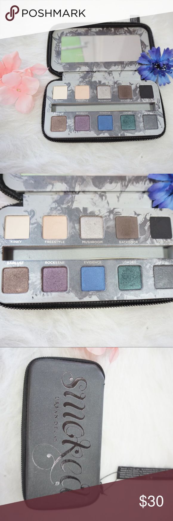 Urban Decay Smoked Palette Only swatched the colors. Never used and sanitized. Urban Decay Makeup Eyeshadow