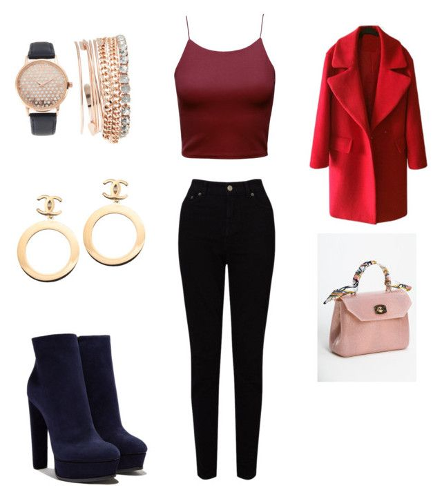 """""""Sin título #51"""" by ninelfo-1 on Polyvore featuring Casadei, EAST, Jessica Carlyle, Chanel, men's fashion y menswear"""