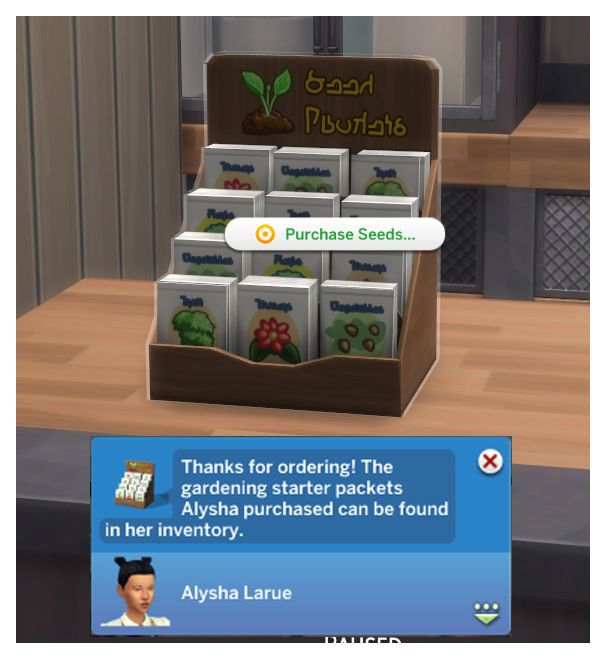 how to get seeds in sims 4
