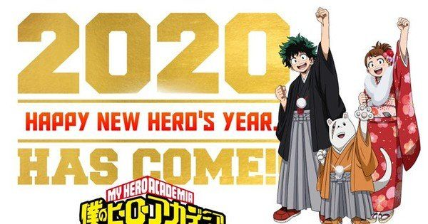 Happy New Year From The Anime World 2020 Part Iii Trong 2020