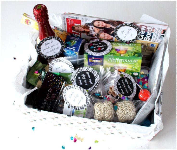 Geburtstag, Geschenk, lustig, Geldgeschenk, Notfallbox zum Geburtstag, Wenn-Box