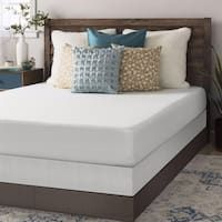 Crown Comfort 8-inch Full-size Box Spring and Memory Foam Mattress Set