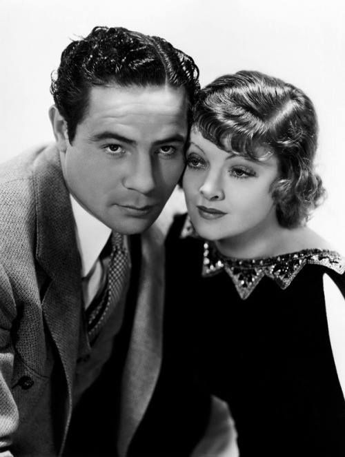 """Myrna Loy and Max Baer in """"The Prizefighter and the Lady"""" (1933)"""