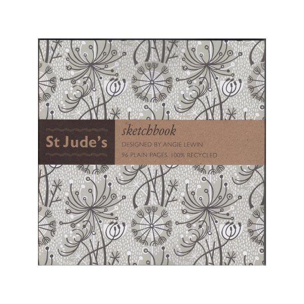 St Judes Sketchbook designed by Angie Lewin - Dandelion