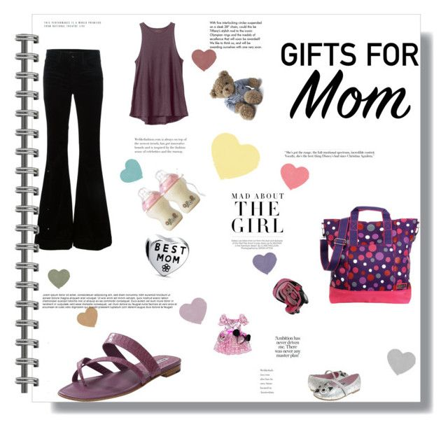 """French Market Mom"" by tiendabirdy on Polyvore featuring J Brand, Hadaki, RVCA, Manolo Blahnik, George, Capelli New York, Lexington, Bling Jewelry, Disney and Kershaw"