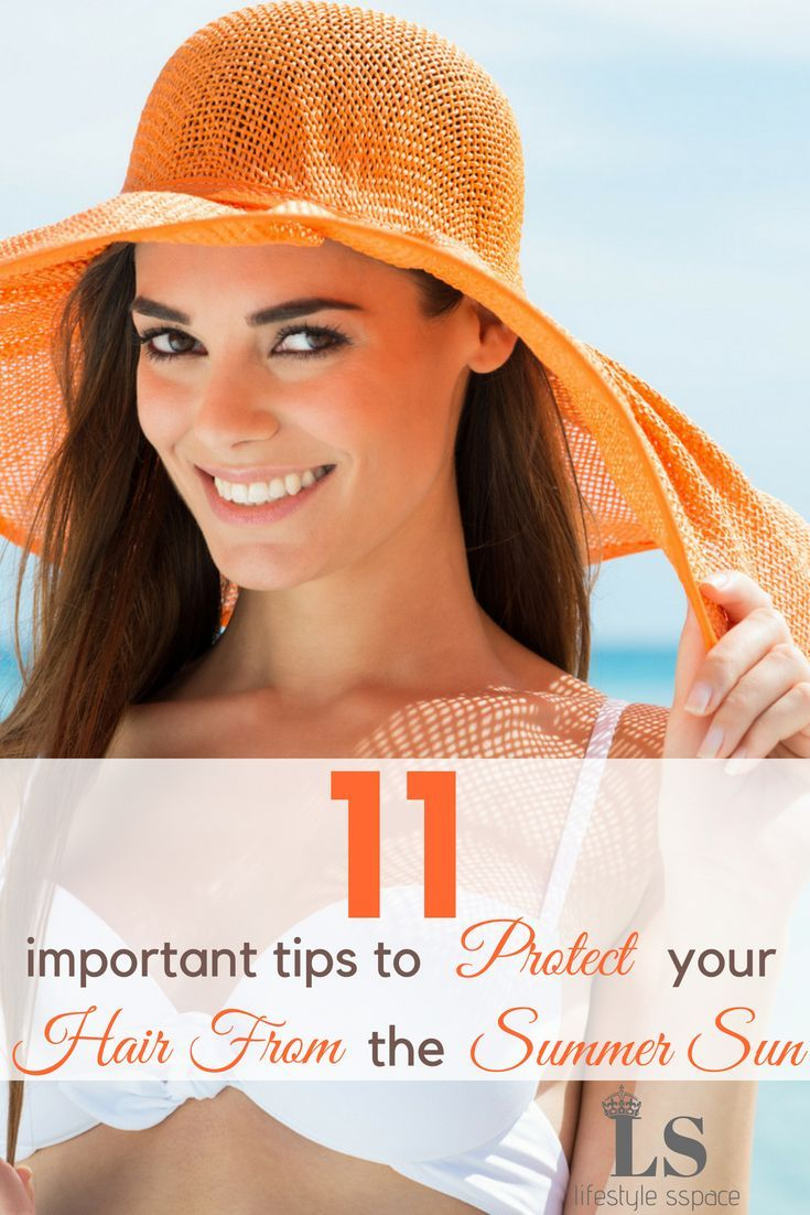 Hair Summer protection tips video