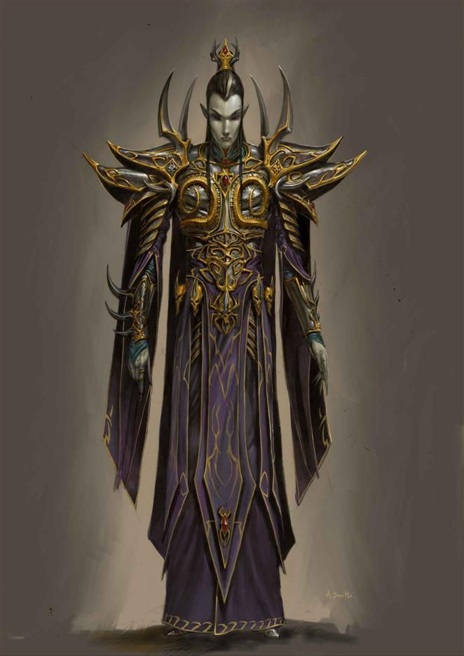 Evil Sorceress Art