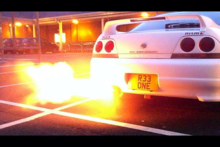 Skyline R33 GTR Fire