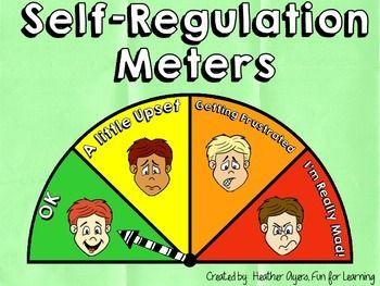 Self-Regulation Meters {A Behavior Management Strategy}
