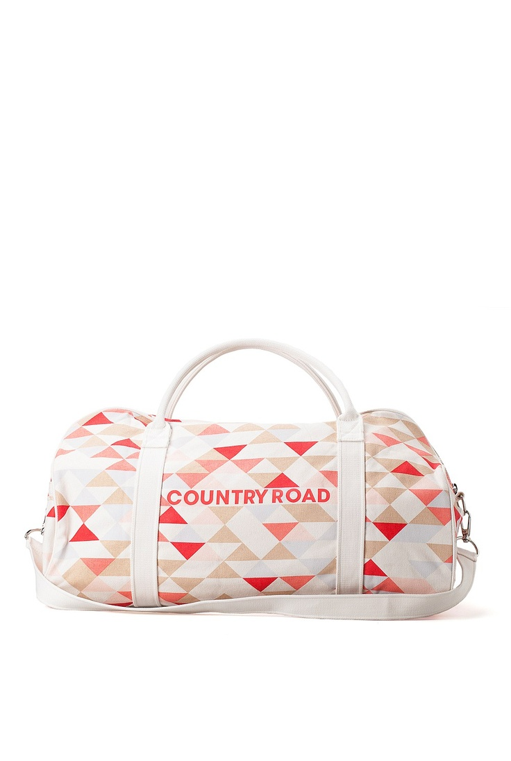 COUNTRY ROAD - Franka Printed Tote. Overnight bag awesomeness.