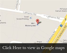 Map for MK1 Motorcycles Melbourne.