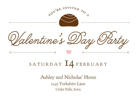 Best ValentineS Day Invitations  Cards Images On