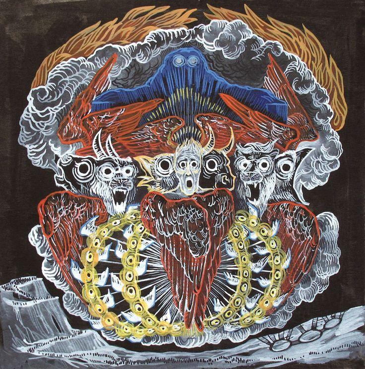 Metal Band Pillar : Les meilleures images concernant record covers