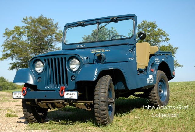 Jeep Willys 1954 >> 1954 Willys Overland M38A1 Air Force Jeep | My Jeep Album | Pinterest | Militaires