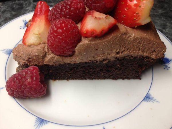 OMG Sjokoladekake
