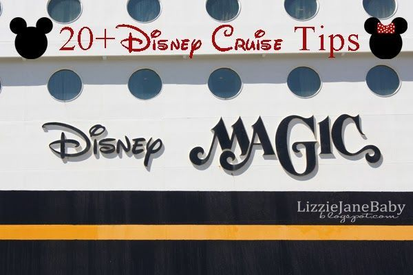 20 Disney Cruise Tips - great tips for a first time #disney #cruise
