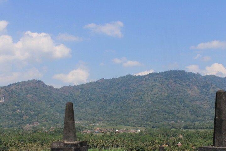 The Landscape in Borobudur