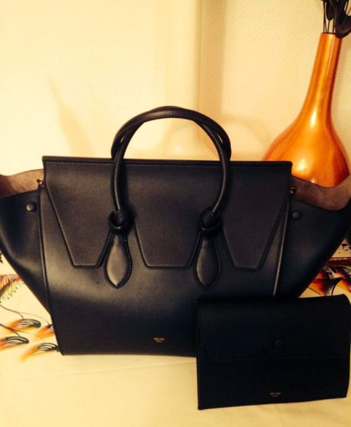 celine tie tote, one of my favourite bag designs from the last few years. #bagporn
