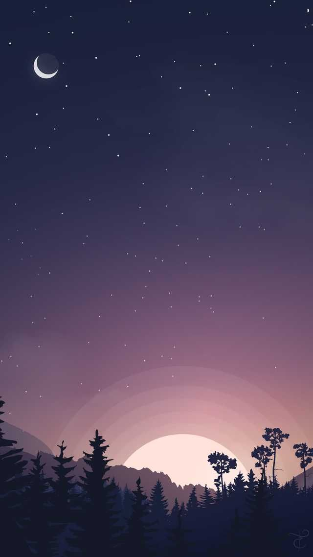 Imgur Landscape Wallpaper Minimalist Wallpaper Sunset Wallpaper