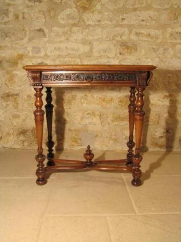 Антикварная мебель офисные столы балясины Neo Renaissance лапка рама X