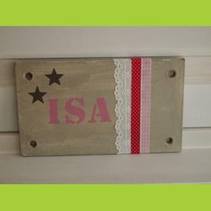 Nieuw naambord ISA