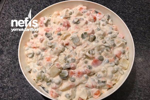 Rus Salatası (Mutlaka Deneyin)