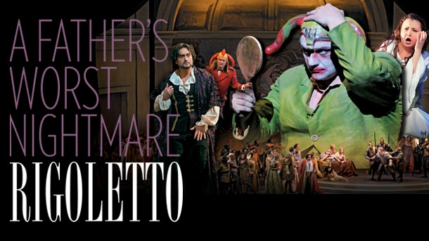 Rigoletto by Giuseppe Verdi; Feb. 25 - Mar. 30