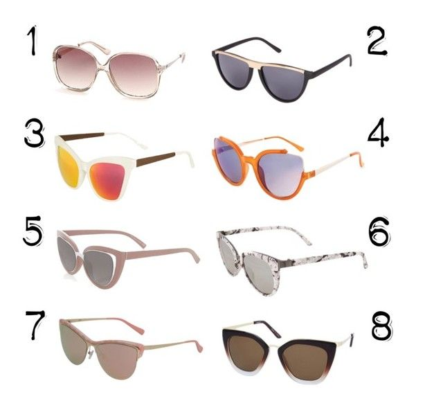 """""""June CrushȘ Sunglasses"""" by thebearg on Polyvore featuring Topshop"""
