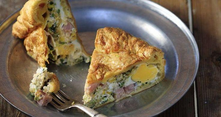 Αυγόπιτα με καλαμπόκι