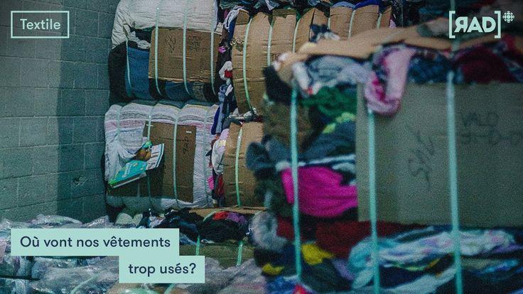 [RECYCLAGE TEXTILE] Où vont nos vêtements trop usés?