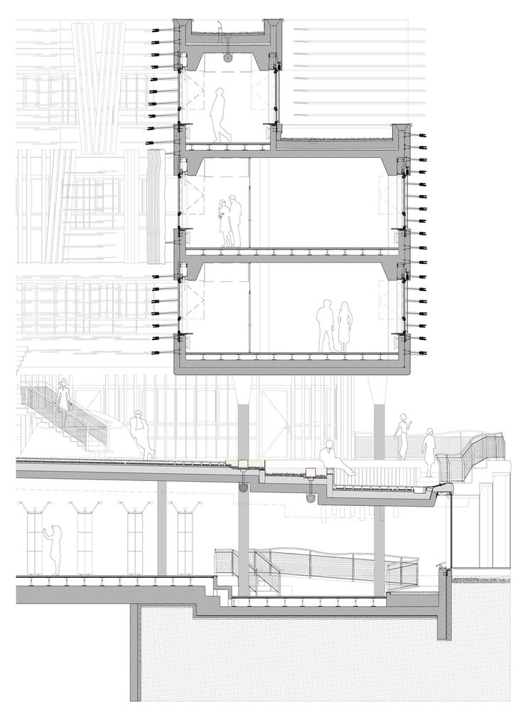 Architecture Drawing Kit crab studio vienna university designboom | arch | section