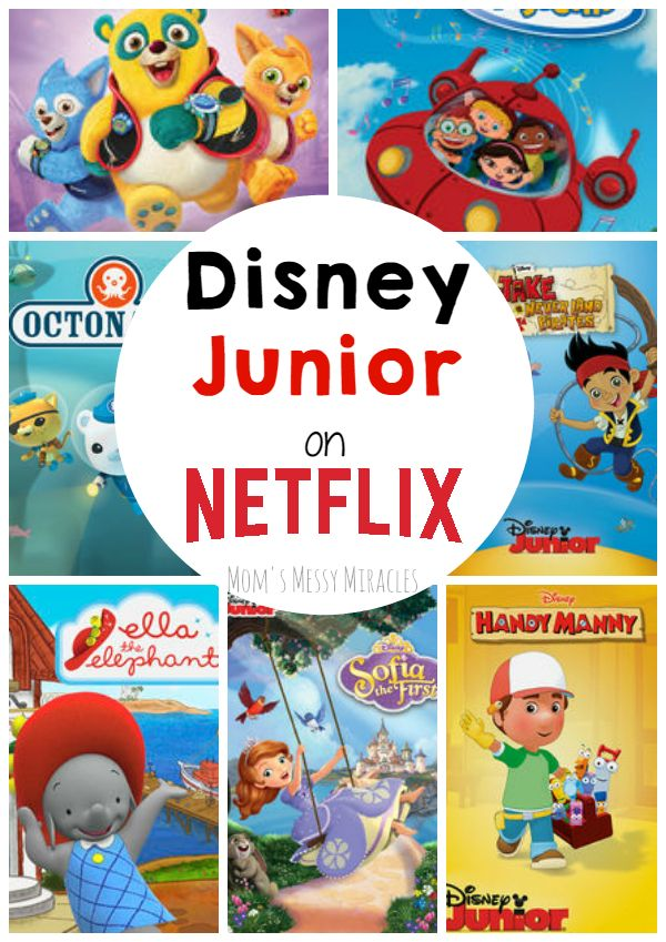 You can watch your favorite Disney Junior shows on @Netflix! #StreamTeam #ad