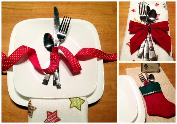 1000 images about holiday table settings on pinterest Christmas place setting ideas
