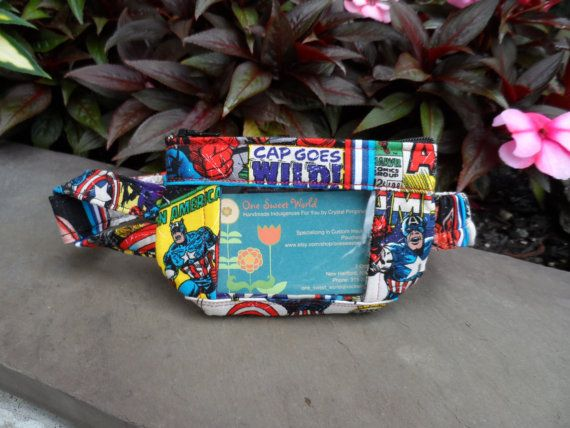 NEW Insulin Pump Pouch  Captain America by onesweetworldtreats, $32.00