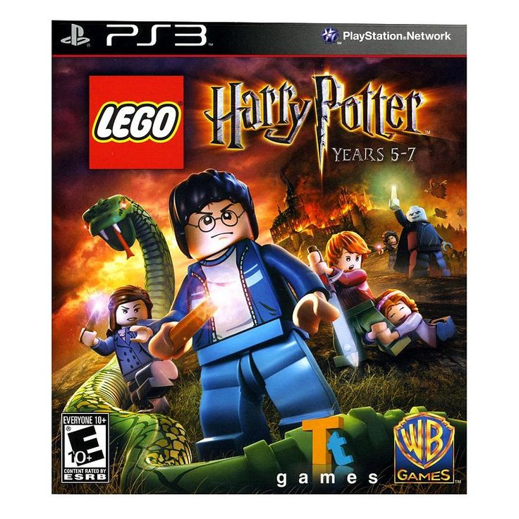 LEGO Harry Potter: Years 5 - 7 for Playstation 3, Multicolor