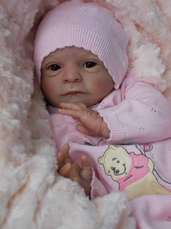 Clare S Babies Stunning Reborn Baby Girl Doll Rosie Olga