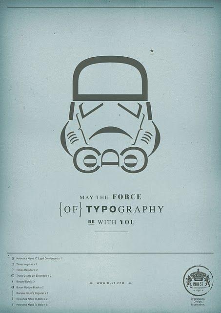 Star Wars Typography
