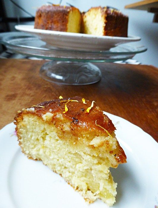 Masterchef recipes lemon syrup cake