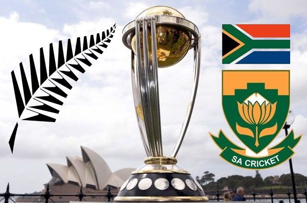 South Africa to play New Zealand in 2015 cricket world cup semi-final on 24 March at Auckland. Get SA vs NZ semifinal predictions, preview and analysis.