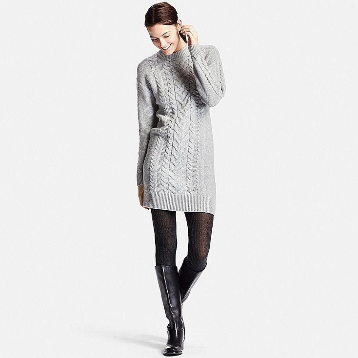 Robe En Maille Torsadée FEMME - 39,90€