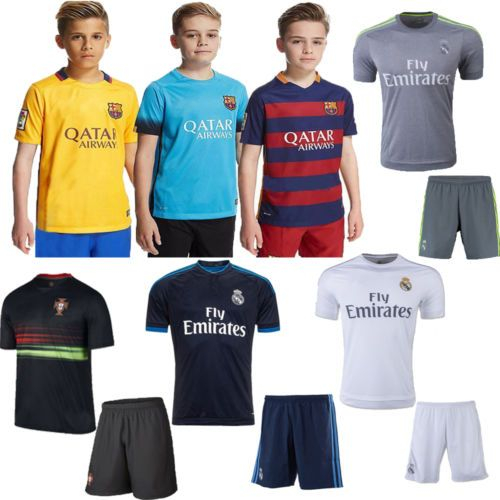 New #football soccer club 3-14 yrs kids boy youth team suit short #sleeve  #+sock,  View more on the LINK: http://www.zeppy.io/product/gb/2/252396587487/