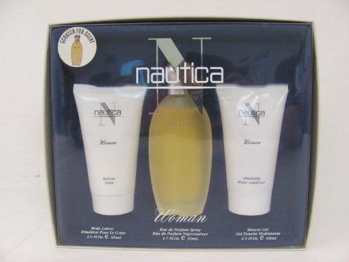 Nautica 1.7 oz Eau de Parfum Spray + 2.0 oz Body Lotion + 2.0 oz Shower Gel by NAUTICA. $49.95. Nautica 1.7 oz Eau de Parfum Spray + 2.0 oz Body Lotion + 2.0 oz Shower Gel. Nautica 1.7 oz Eau de Parfum Spray + 2.0 oz Body Lotion + 2.0 oz Shower Gel