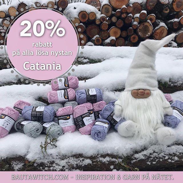 GOD JUL! Din julklapp 🎁 från oss: 20% rabatt på alla lösa nystan Catania. Välkommen! BautaWitch.com 🎄🤶🏻❤️ Erbjudandet gäller t o m Nyårsafton, så långt lagret räcker. #virka #virkat #virkning #sticka #stickad #stickning #julklapp #garn #mellandagsrea #garn #catania #bautawitch #bautawitchmönster #webbshop #diy #bomullsgarn
