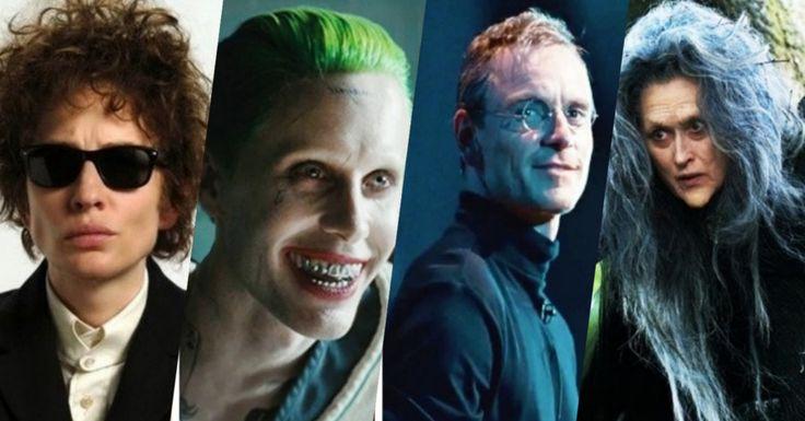 10 atores que se transformaram por completo