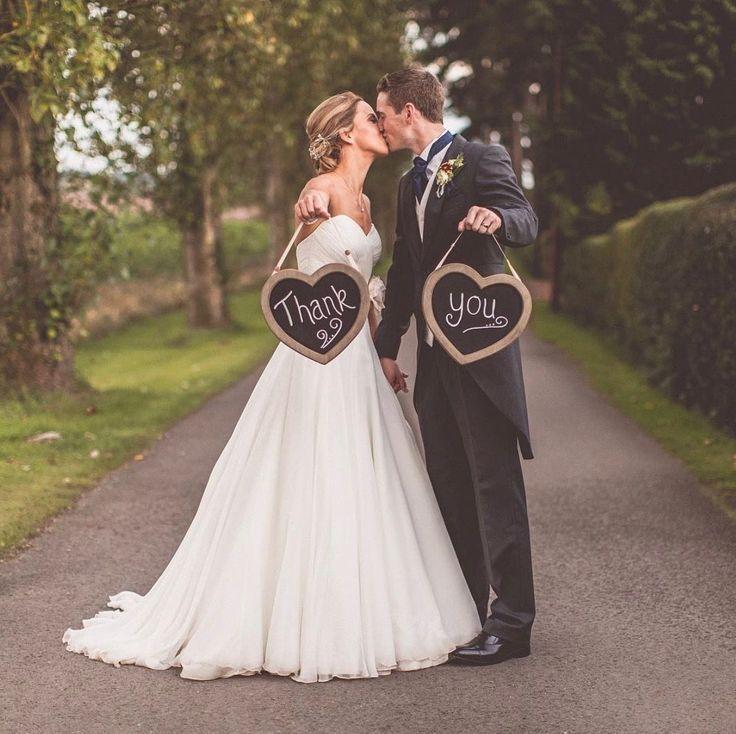 Unglaublich Erstaunlich Danke Hochzeitsfoto, #B…