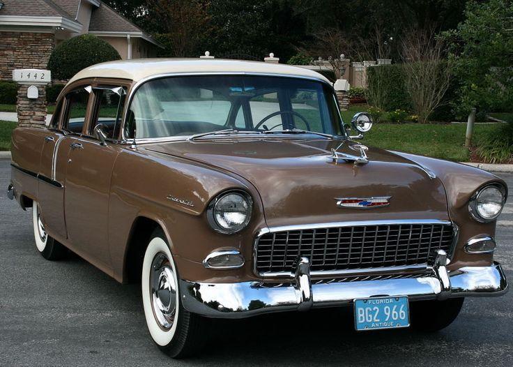 1955 Chevrolet Two-Ten 4-Door Sedan