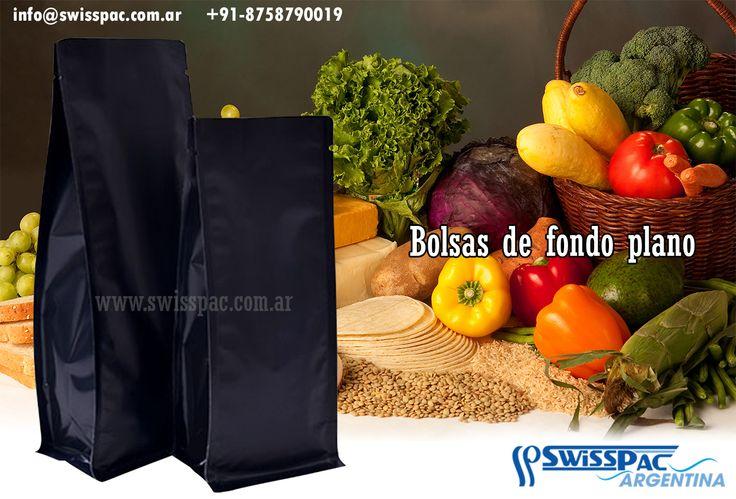 SwissPac :  Conoce nuestra variedad de #diseños y #colores de #bolsasdefondoplano con las que contamos. Visita nuestra página web. http://www.swisspac.com.ar/bolsas-de-fondo-plano.html