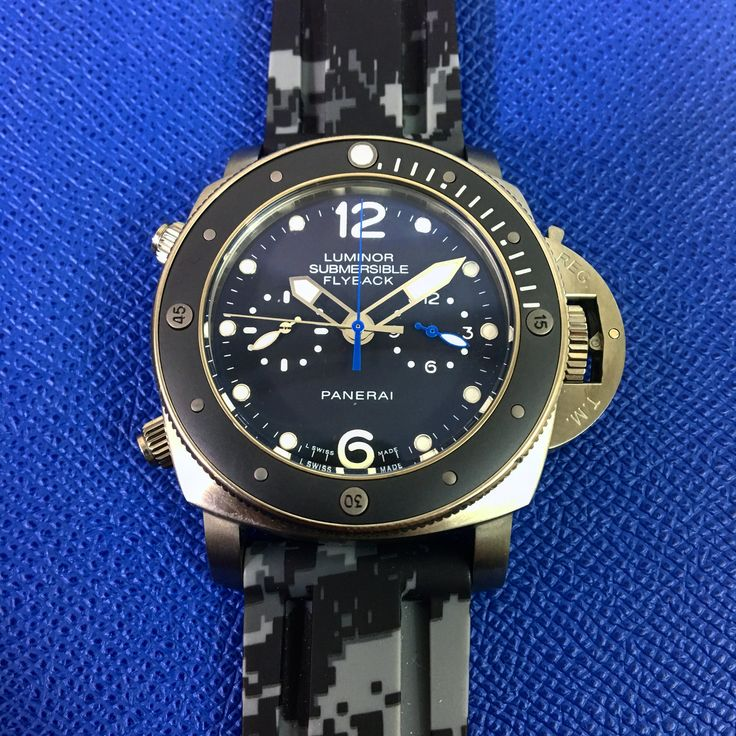 Krono Digital Camo for Panerai