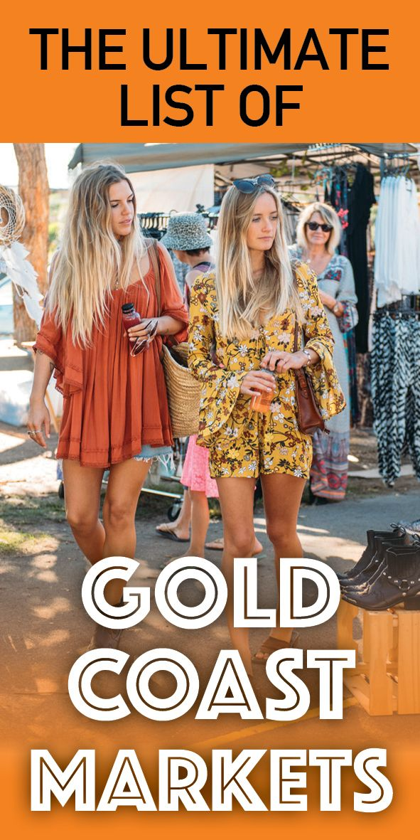 You're favourite Gold Coast Markets and some you don't even know yet!